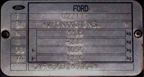 Ford. | Ford? , . VIN Ford. , , , maverick, couguar ...
