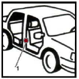 Как узнать код краски рено логан